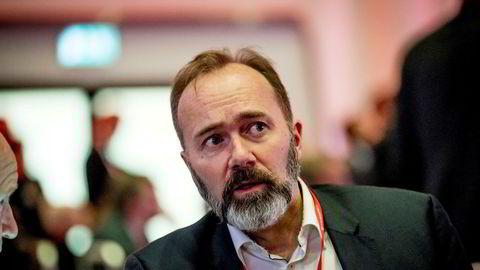 Trond Giske under Arbeiderpartiets landsmøte tidligere i år.