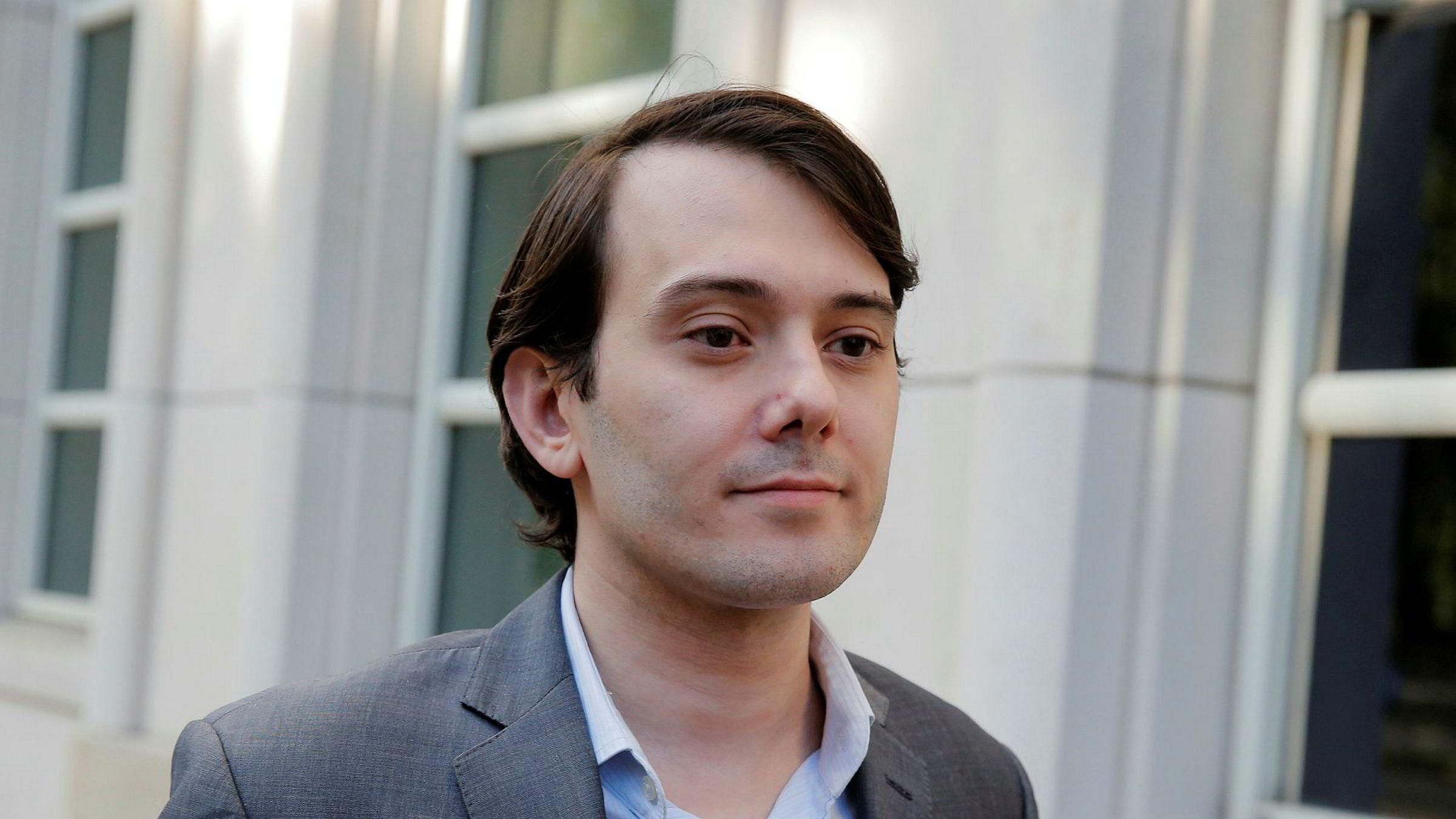Påtalemyndigheten hadde bedt om 15 års fengsel for Martin Shkreli, men han fikk under det halve.