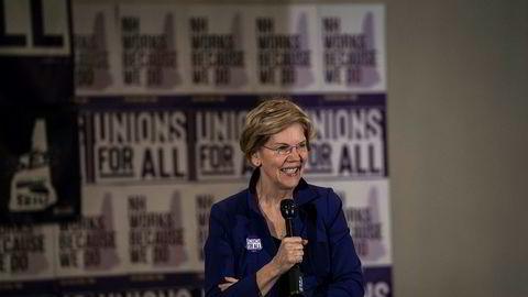 Finansbransjen på Wall Street går til angrep på skattepolitikken til presidentkandidat Elizabeth Warren.