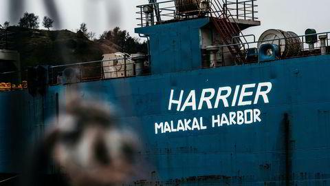 Lasteskipet «Harrier» får derfor ikke forlate Norge før eierne velger en virksomhet i et OECD-land med tillatelses til å hugge opp skip. Nå er det søkt om tillatelse til opphugging i Tyrkia, sier forfatteren.