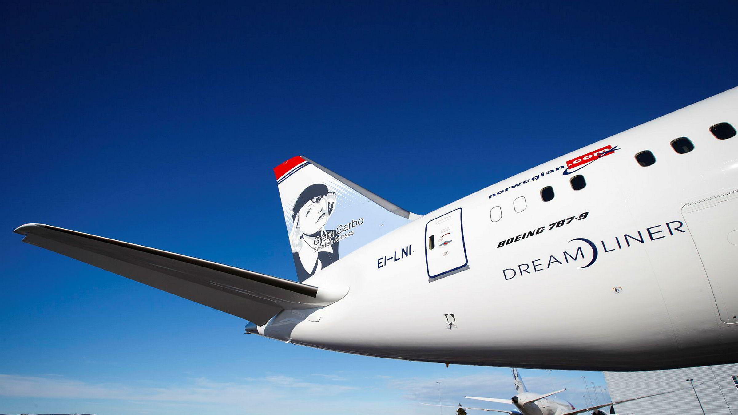 Det gikk raskt, da Norwegians ene Dreamliner-fly var på vei fra New York til London, og fant en solid jetstrøm.
