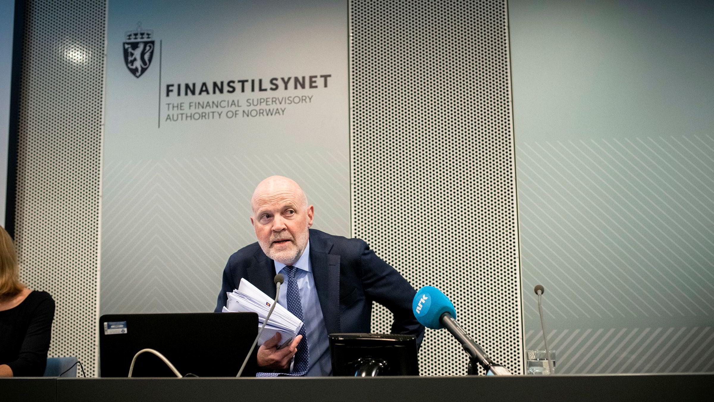 Finanstilsynets direktør Morten Baltzersen er i ferd med å utforme de første utkastene til krisetiltaksplaner for en del norske banker, skriver artikkelforfatteren.