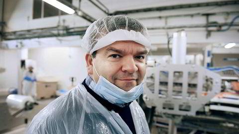 Administrerende direktør Roger Hofseth i Hofseth Biocare. Bare den siste måneden har aksjekursen til Hofseth Biocare steget med 71 prosent etter en nyhetsrik høst for selskapet.