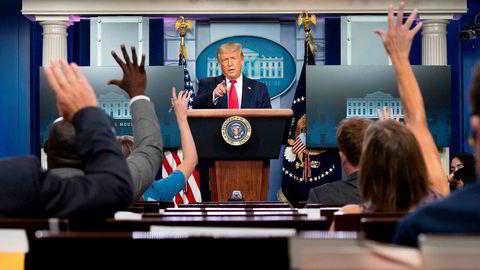 President Donald Trumps kampanje har svidd av flere hundre millioner dollar og valgkampkassen er i ferd med å gå tom.