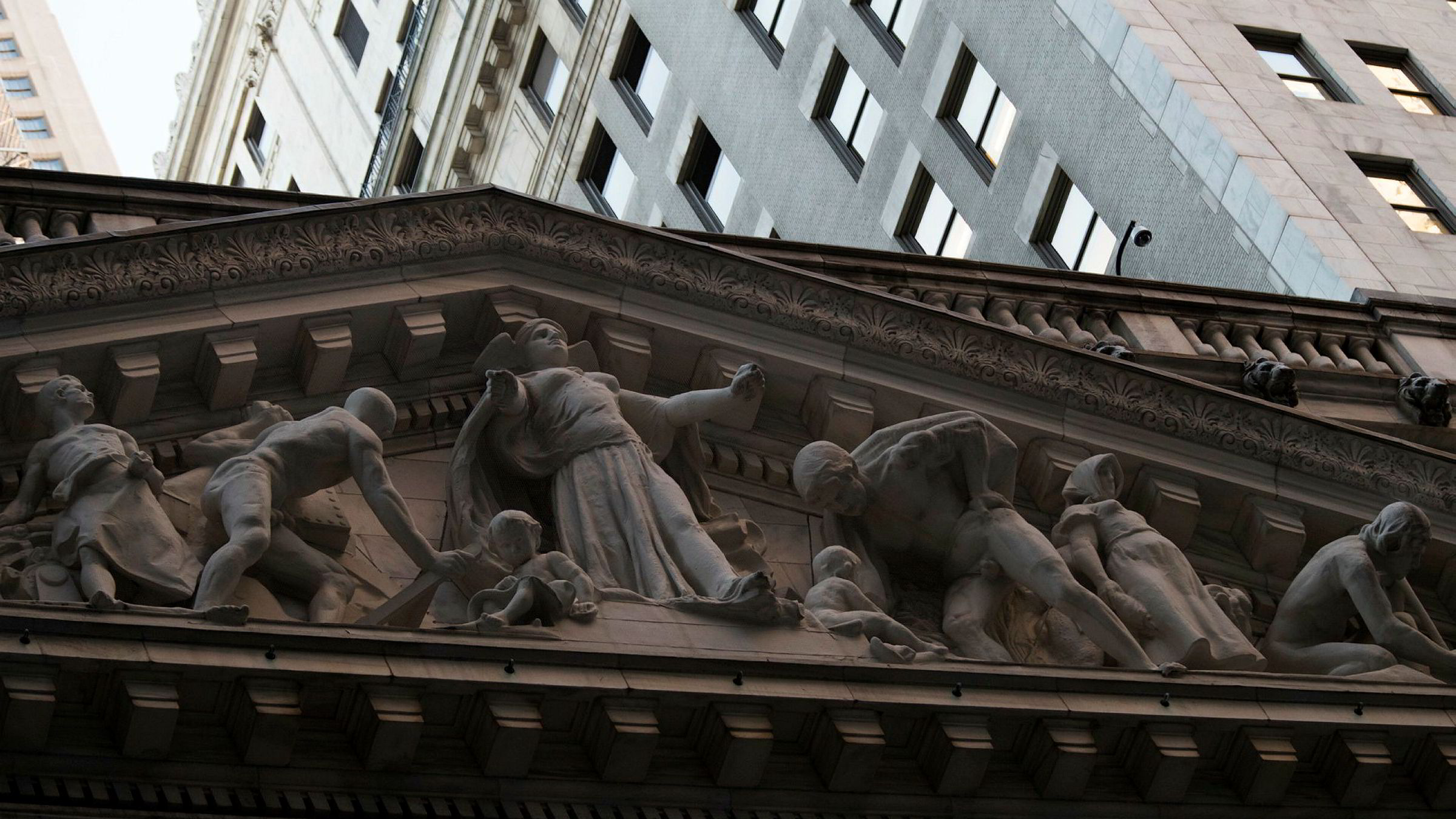 Wall Street går en god uke i møte.
