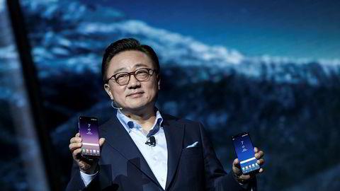 Flaggskipet Galaxy S8 er blitt en etterlengtet suksess for Samsung-direktør DJ Koh etter fjorårets skandalemobil.