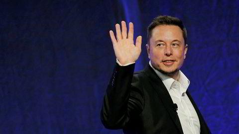 Administrerende direktør og co-gründer av Tesla Motors, Elon Musk. 15. juli 2017.