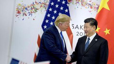 Kina og USA har blitt enige om en avtale. Trump skriver at de videre forhandlingene fortsetter.