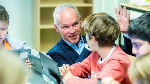 Kunnskaps- og integreringsminister Jan Tore Sanner er aktuell som ny finansminister, ifølge VG.