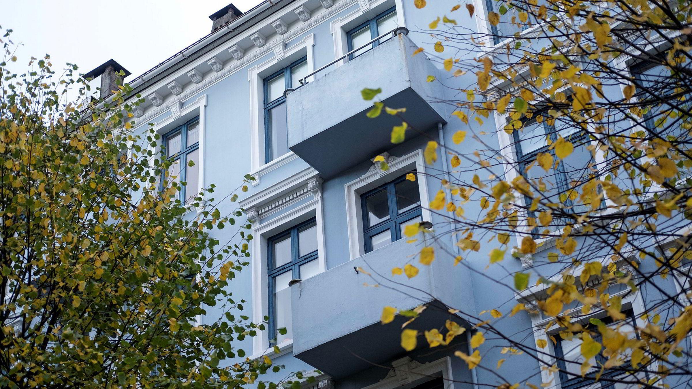 Boligprisene i Bergen falt med 1,3 prosent i november.