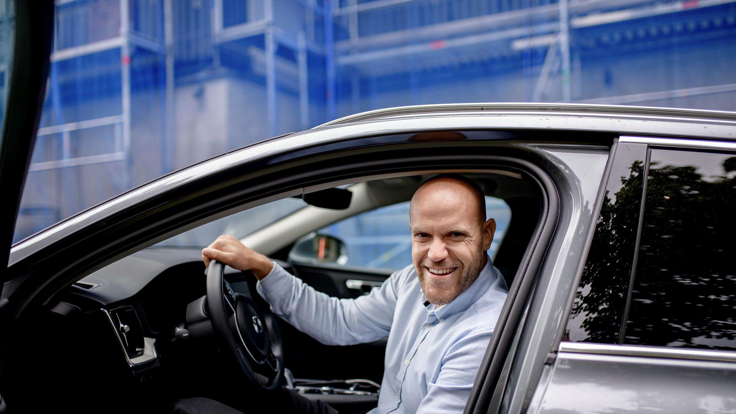 Anders Espelund er daglig leder og gründer i bruktbiltjenesten Nettbil. Selskapet har hatt rask vekst det siste året og har i løpet av 2019 solgt over 3000 biler.