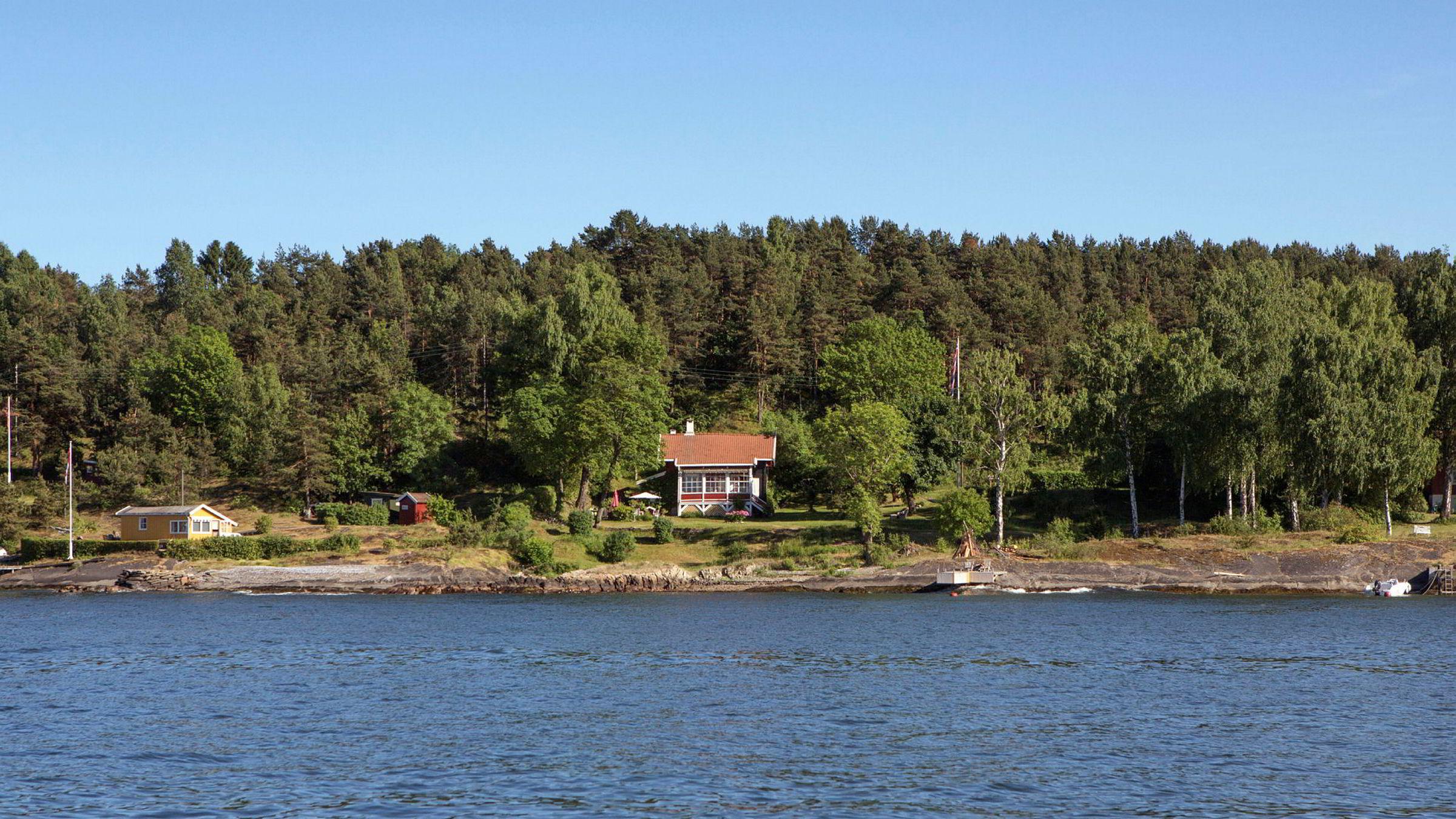Hytte på Lindøya i Oslo kan knuse tidligere prisrekord på øya, hvis selger får prisantydningen på 14 millioner.