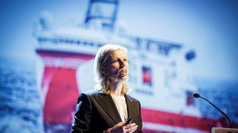 Gunvor Ulstein er konsernsjef i Ulstein Group, og driver verftet i Ulsteinvik sammen med sin bror Tore.