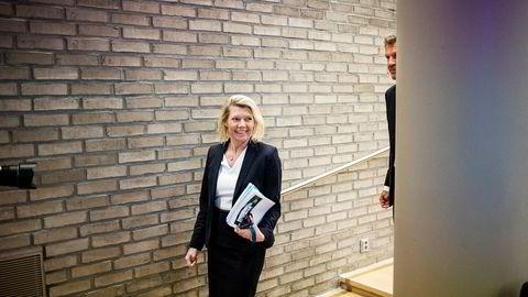 Kjerstin Braathen har lagt bak seg et knallsterkt kvartal som ny konsernsjef i DNB.