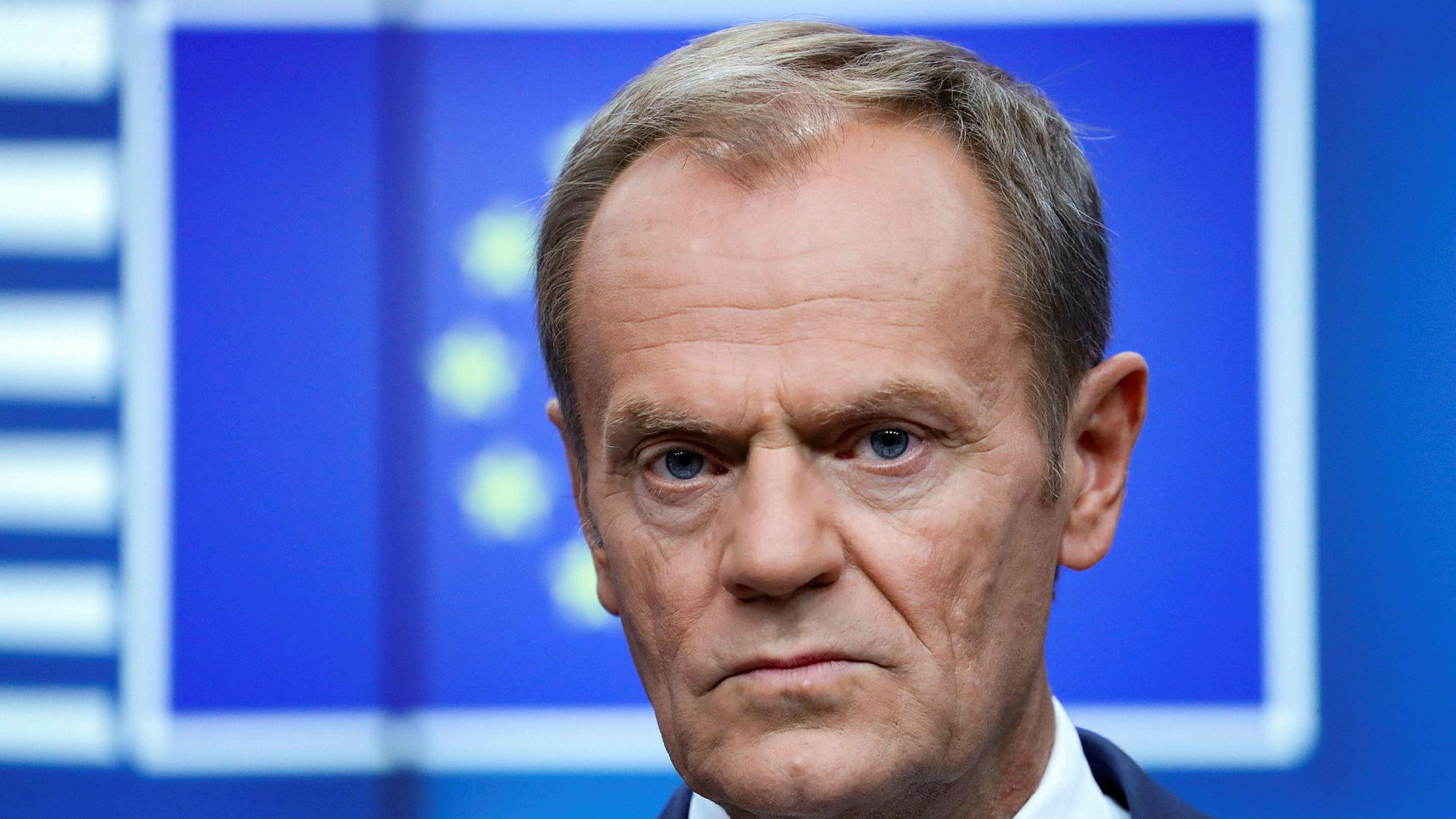EU-lederne vil trolig følge EU-president Donald Tusks råd om å gi Storbritannia brexitutsettelse.