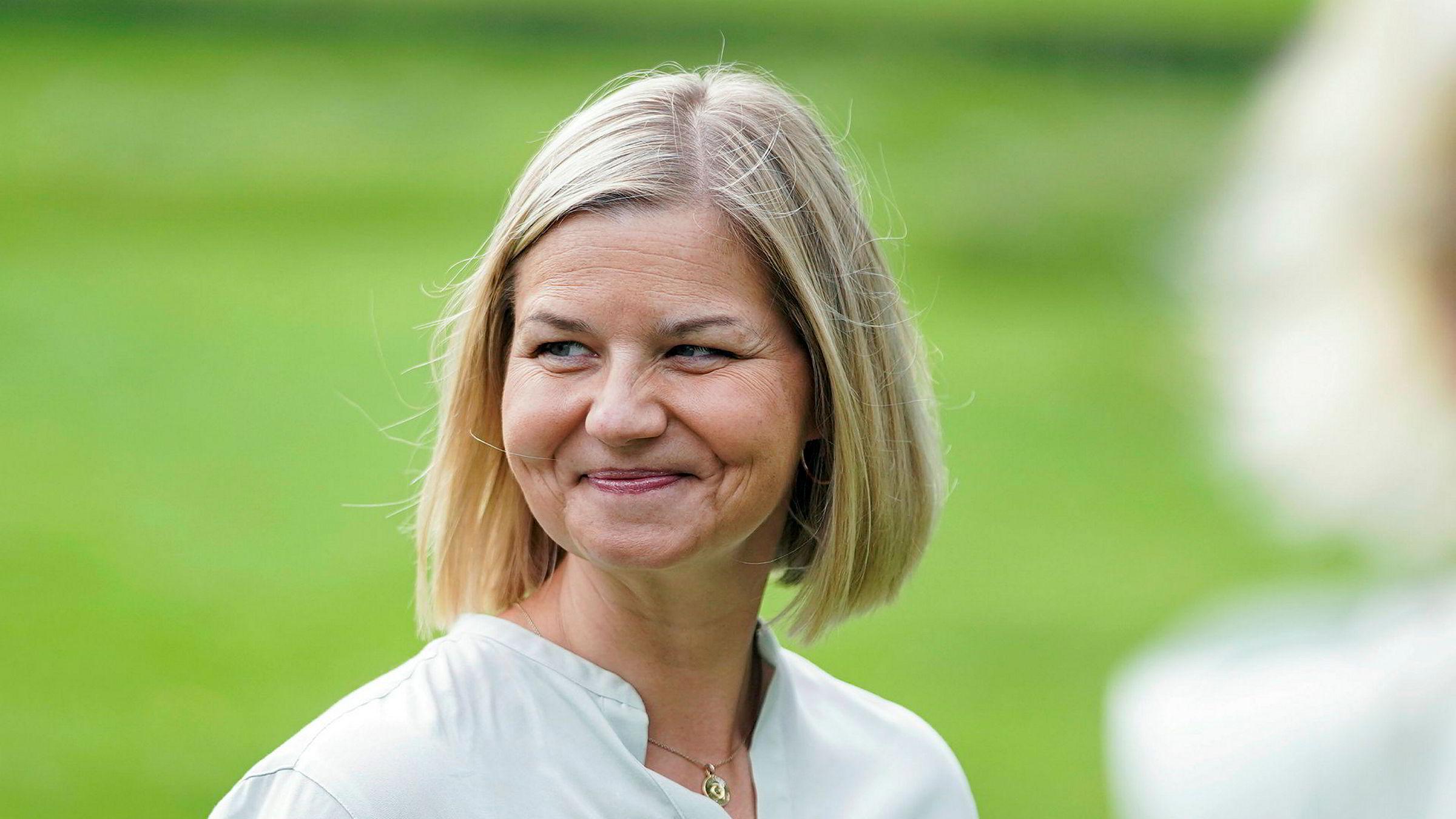 Guri  Melby  skal  lede  Venstre  videre:  –  Rørt  over  tilliten