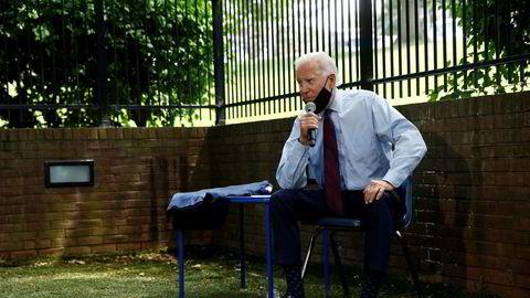 Det er dumt å undervurdere Donald Trump. Men var det valg i morgen ville Joe Biden (bildet) vinne en av de største valgseirene i USAs historie, skriver artikkelforfatteren.