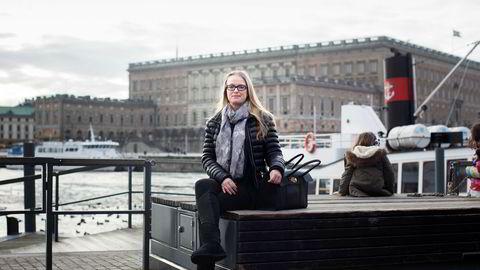 Administrerende direktør Bente Franck-Sætervoll i Bokbasen fikk Konkurransetilsynet på uanmeldt besøk i januar. Torsdag var hun på jobbreise til Stockholm.