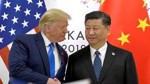 Kina håper første fase i en handelsavtale med USA skal normalisere situasjonen. Skepssien til president Donald Trump er stor. Kina har som mål å bli selvforsynt med avansert teknologi. Et nytt investeringsfond ble etablert i slutten av oktober.