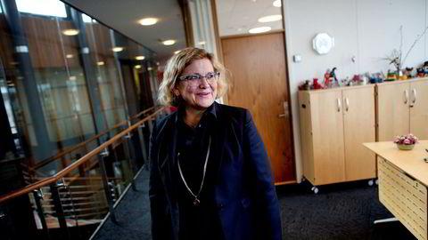 Inntektene fra Statens eierandeler i olje- og gassfelt, de såkalte SDØE-andelene, falt kraftig i 2019. Avbildet er administrerende direktør Grethe Kristin Moen i Petoro, som forvalter eierandelene i norske olje- og gassfelt.