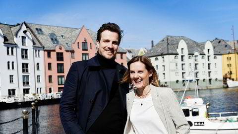 Ably-gründer Kjell Are Furnes får lokale investorer gjennom Anja Solevågseide og hennes allierte i Pir Invest, en nystartet gruppe for teknologi-investeringer på Sunnmøre.