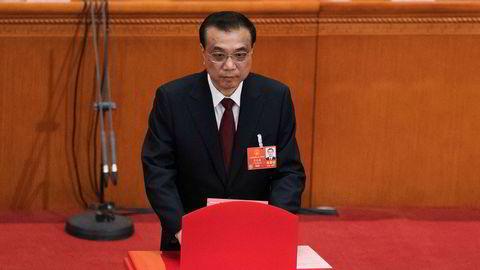 Kinas statsminister Li Keqiang er gjenvalgt.