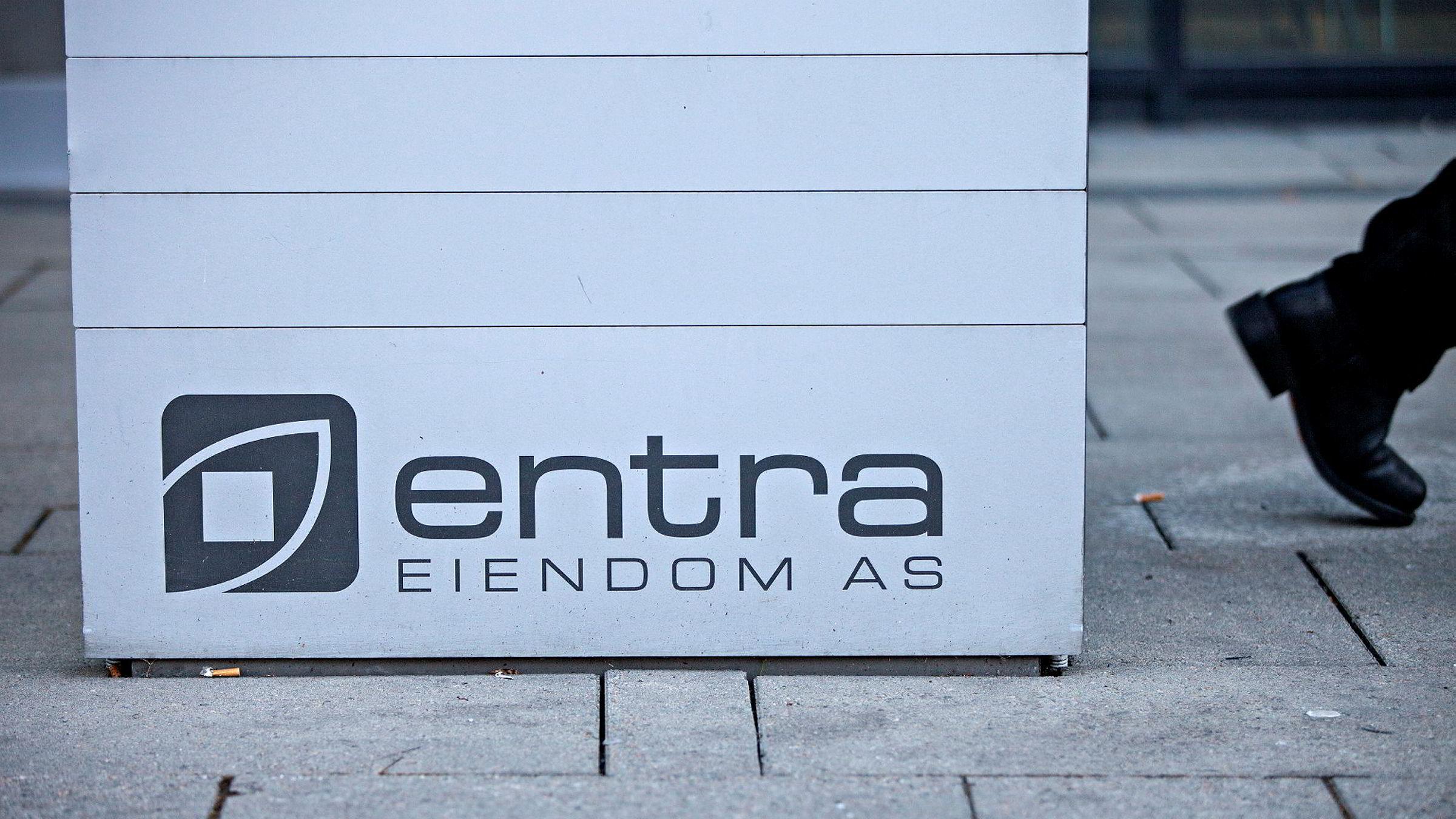 Oslo 20121011. Selskapet Entra Eiendom AS sine lokaler i Oslo sentrum torsdag.Foto: Thomas Winje Øijord / NTB scanpix Foto: Øijord, Thomas Winje