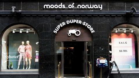 Lokalene til Moods of Norway i Karl Johans gate i Oslo.