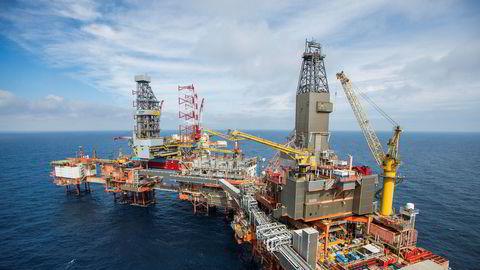 Aker BP-plattformen Valhall i Nordsjøen må ifølge en Rystad Energy-oversikt ha en fatpris på mellom 40 og 45 dollar for å være lønnsomt.
