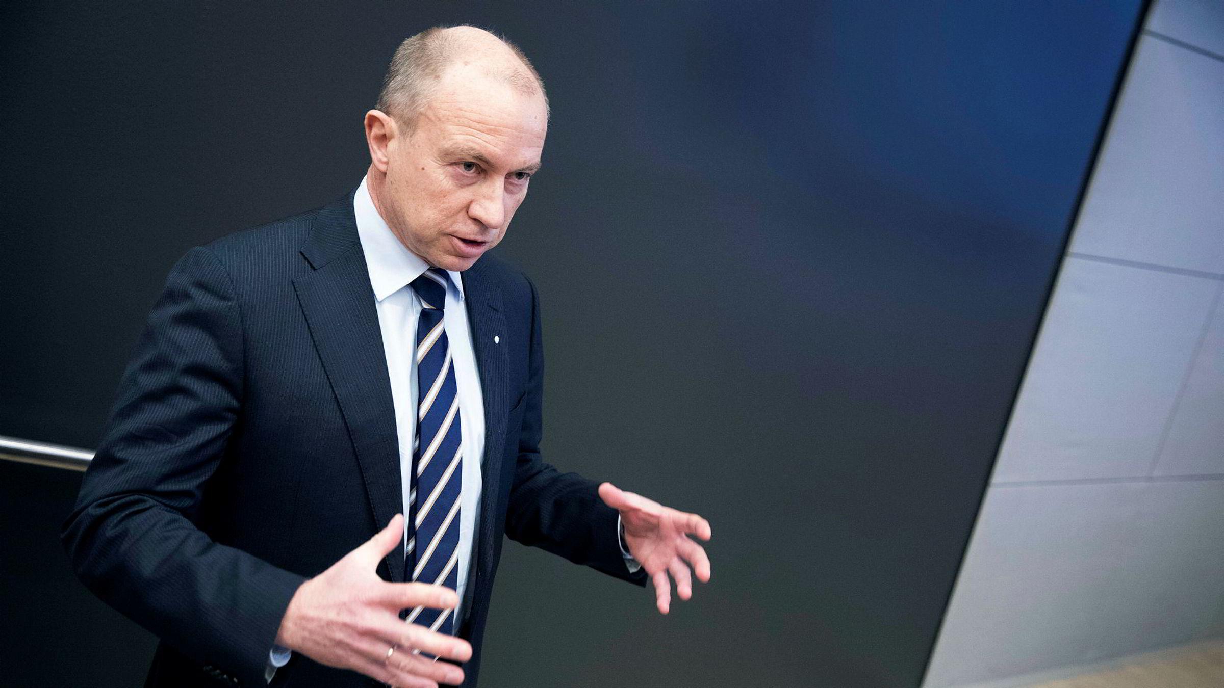 Statkraft-sjef Christian Rynning-Tønnesen risikerer en skattesmell på fire milliarder kroner, men er sterkt uenig med Skatteetaten.