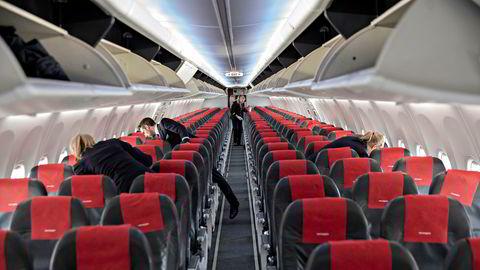 Widerøe venter at antall flybilletter kan dobles nå som regelen med ledig midtsete fjernes.