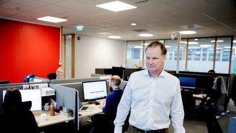– Vi er en rebell. Det er noe jeg kan tatovere i pannen, sier administrerende direktør Øyvind Thomassen i Sbanken. Han reagerer kraftig på nye krav fra regjeringen.