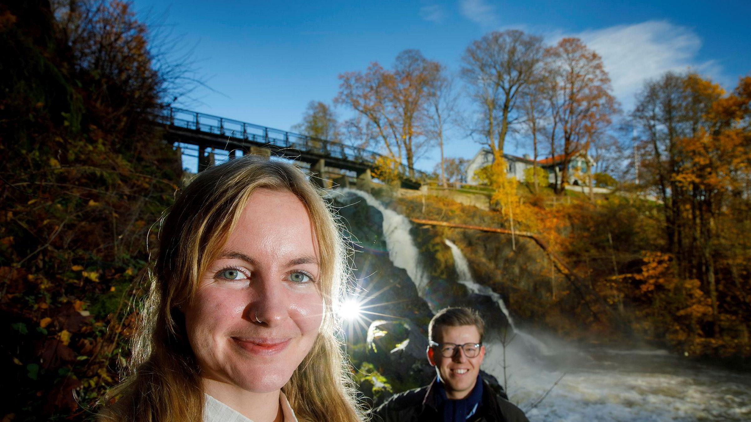 Da Statkraft ville ha syv fornybartraineer, kom det nær 1200 søknader. Siri Hartvedt Nordén og Ole-Martin Røsnæs var blant de syv som slapp gjennom nåløyet.