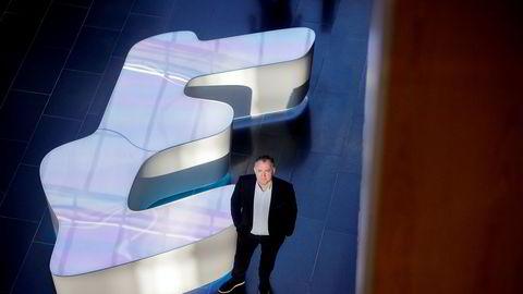 It-selskapet Evrys resultater gikk langt over aksjeanalytikernes forventninger for andre kvartal sist uke. Nå har alle ekspertene i ukeporteføljen tatt inn selskapet. Her er Geir Arne Olsen, leder for Evrys satsing i offentlig sektor.