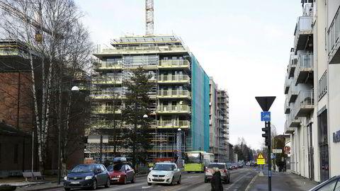 Boligbygging i Lillestrøm sentrum.