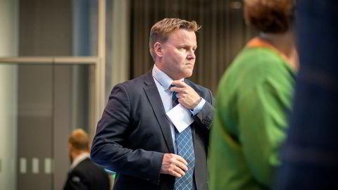 Assisterende helsedirektør Espen Rostrup Nakstad i Helsedirektoratet jobber tett med håndteringen av koronaviruset i Norge.