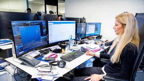 Sjeføkonom Kari Due-Andresen i Handelsbanken tror norsk økonomi kommer til å krympe i andre og tredje kvartal.