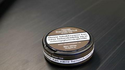 Snus og sigaretter begynte å komme i nøytral forpakning fra 1. juli i år.