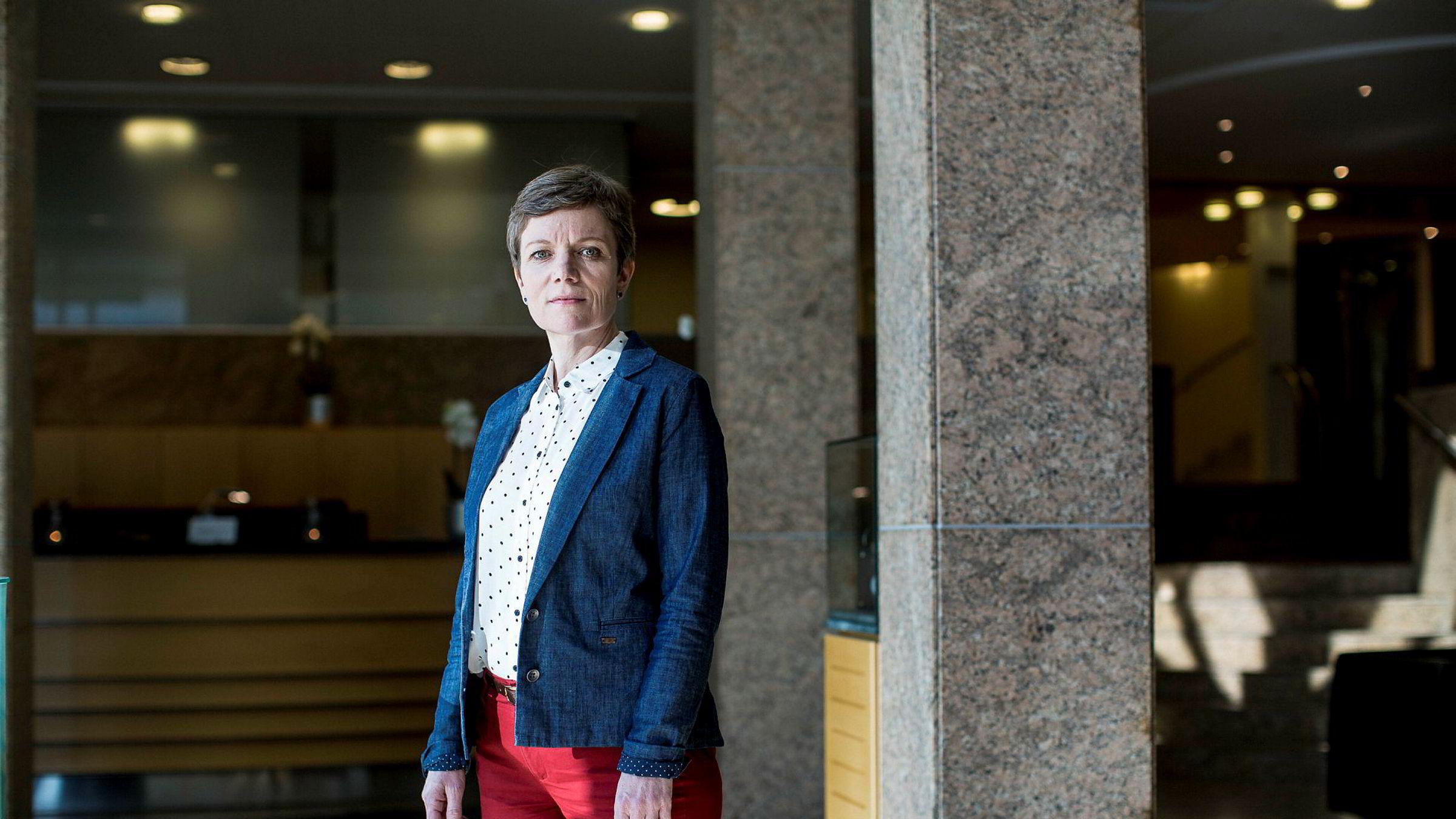 Legeforeningens president Marit Hermansen.