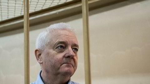 Frode Berg må belage seg på mange nye måneder i russisk fengsel.