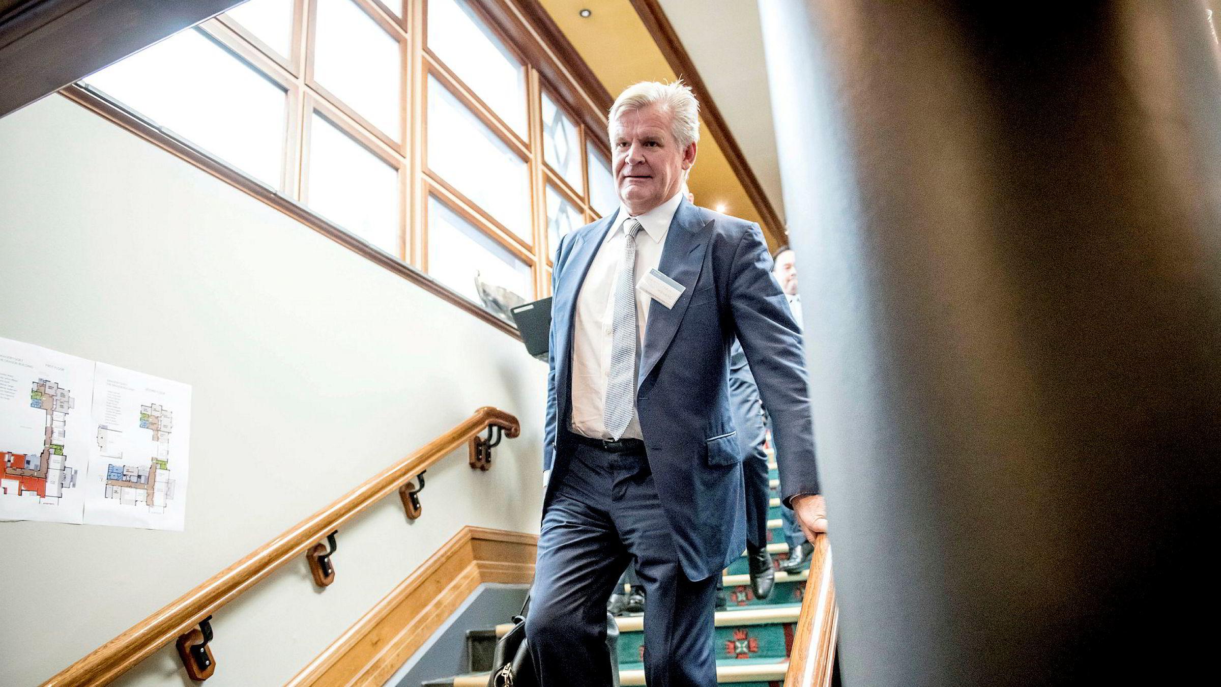 Tor Olav Trøims ambisjon i 2018 var at Borr Drilling skulle betale utbytte innen 2020.