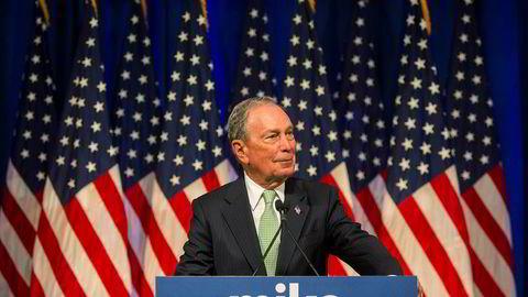 Dollarmilliardær Michael Bloomberg har nylig kastet seg inn i kampen om å bli Demokratenes kandidat i presidentvalget neste høst.
