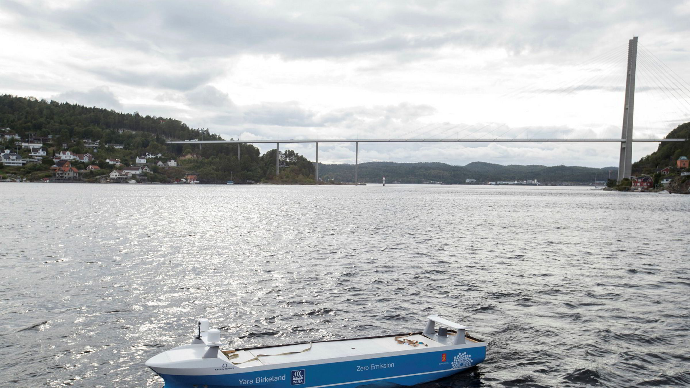 Vards verft i Brevik i Porsgrunn legges ned. Verftet signerte en avtale med Yara til en verdi av 250 millioner kroner for å bygge verdens første elektriske og selvkjørende konteinerskip Yara Birkeland.