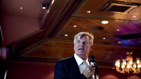 Tor Olav Trøim er styreleder og blant de største private aksjonærene i Borr Drilling. Her er han på paretokonferansen i 2018.