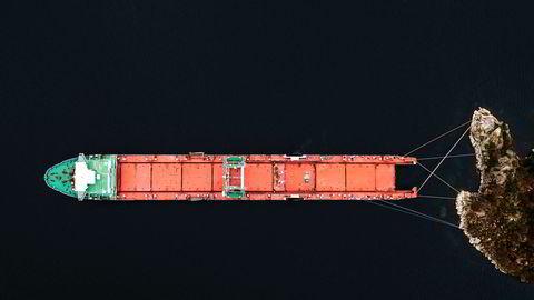 Miljøbombe. Lasteskipet «Harrier» ligger nå i opplag i Farsund og irriterer både naboer og politikere. Skipet som i vinter havarerte på vei ut av Norge, er tatt i arrest av Miljødirektoratet. I mellomtiden hoper regningene seg opp. Hvem skal betale?