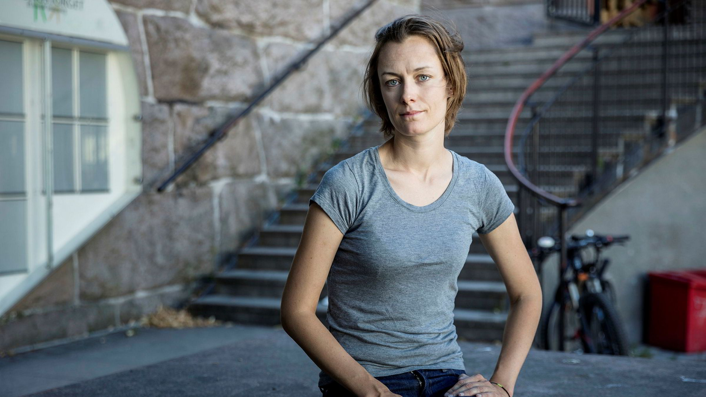Arbeiderpartiets Anette Trettebergstuen reagerer på kritikken mot Katharina Andresen i debatten om Innovasjon Norge-ansettelsen.