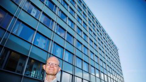 Geir Axelsen overtar som SSB-sjef etter Christine Meyer. Foto: Per Thrana