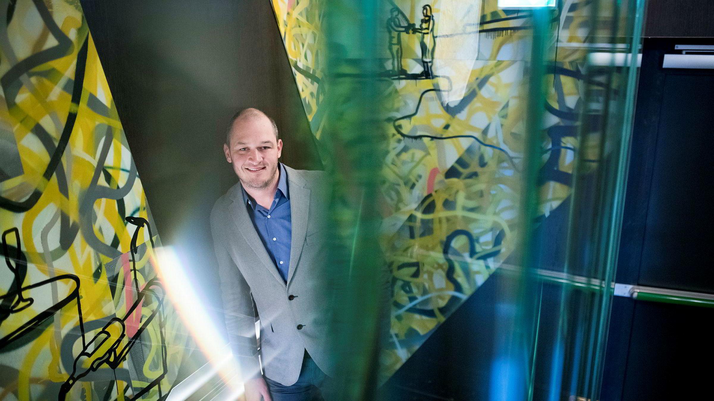 Hendrik McDermott er i Norge for å lansere Hayu, en ny strømmetjeneste fra NBC.