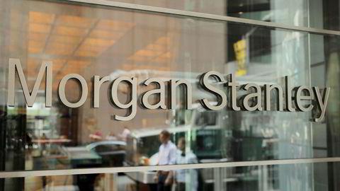 Investeringsbanken Morgan Stanley gransker mulig dekkoperasjon etter stort tap på tyrkisk lire.