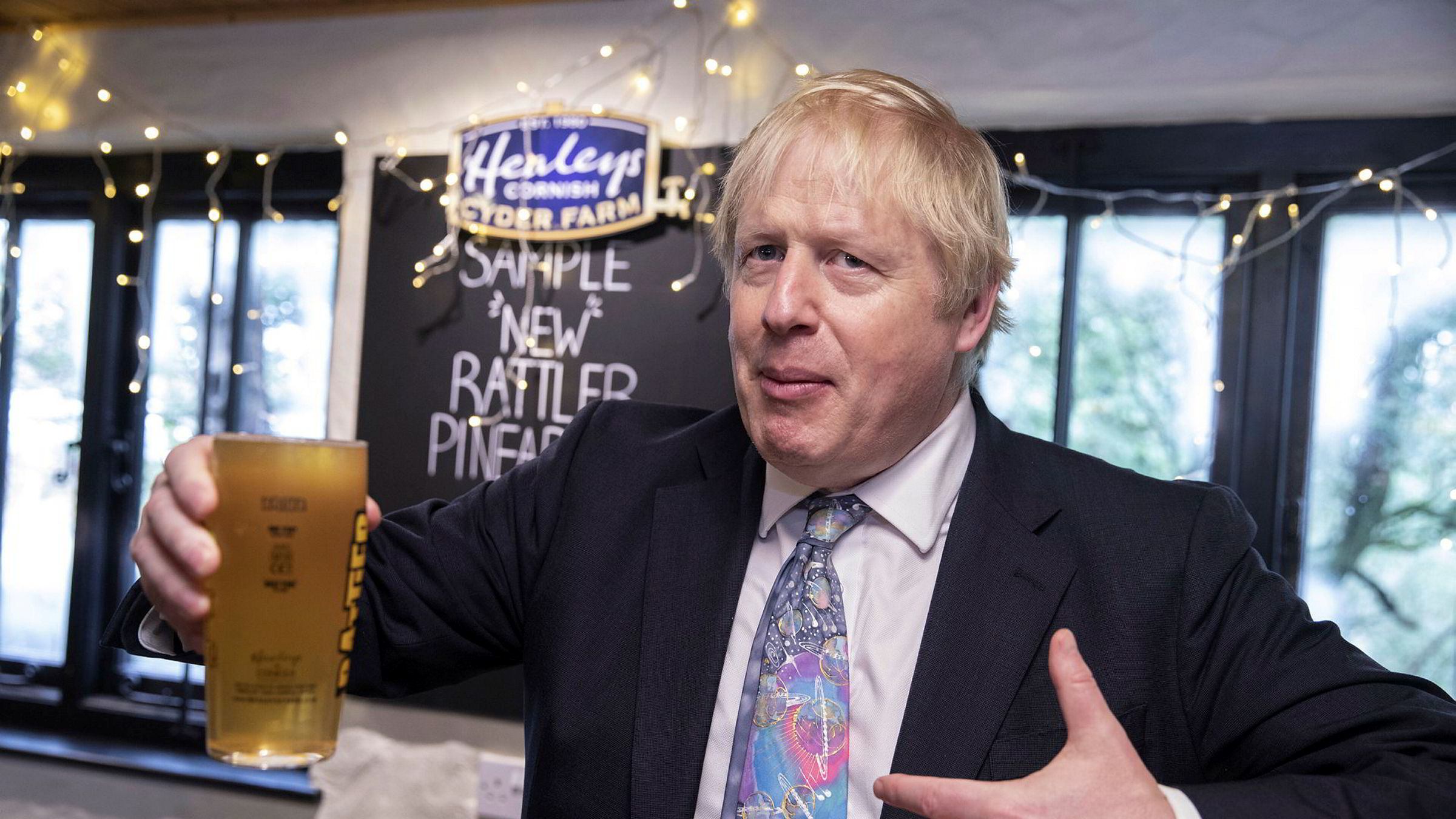 Måling viser stor støtte til statsminister Boris Johnson og det konservative partiet.